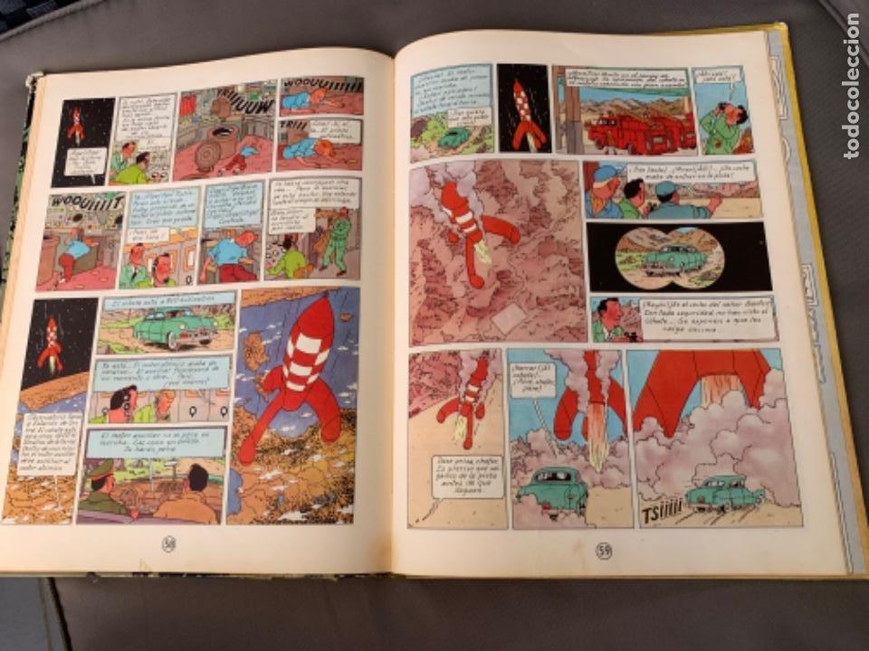Cómics: TINTIN ATERRIZAJE EN LA LUNA , HERGÉ ED. JUVENTUD 5ª EDICION 1970 - Foto 8 - 216586632