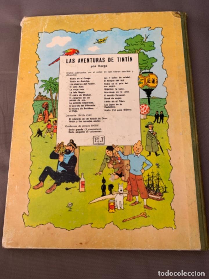 Cómics: TINTIN ATERRIZAJE EN LA LUNA , HERGÉ ED. JUVENTUD 5ª EDICION 1970 - Foto 9 - 216586632