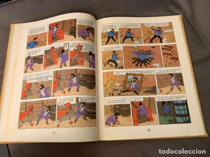 Cómics: TINTIN EL SECRET DE L´UNICORN , HERGÉ ED. JUVENTUD 3ª EDICION 1977 EN CATALAN - Foto 3 - 216592565