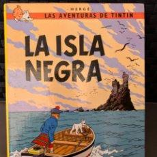 Cómics: TINTIN LA ISLA NEGRA , HERGÉ ED. JUVENTUD 12ª EDICION 1989. Lote 216592990