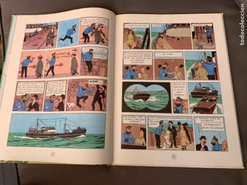 Cómics: TINTIN EL TESORO DE RACKHAM EL ROJO , HERGÉ ED. JUVENTUD 12ª EDICION 1988 - Foto 3 - 216593530