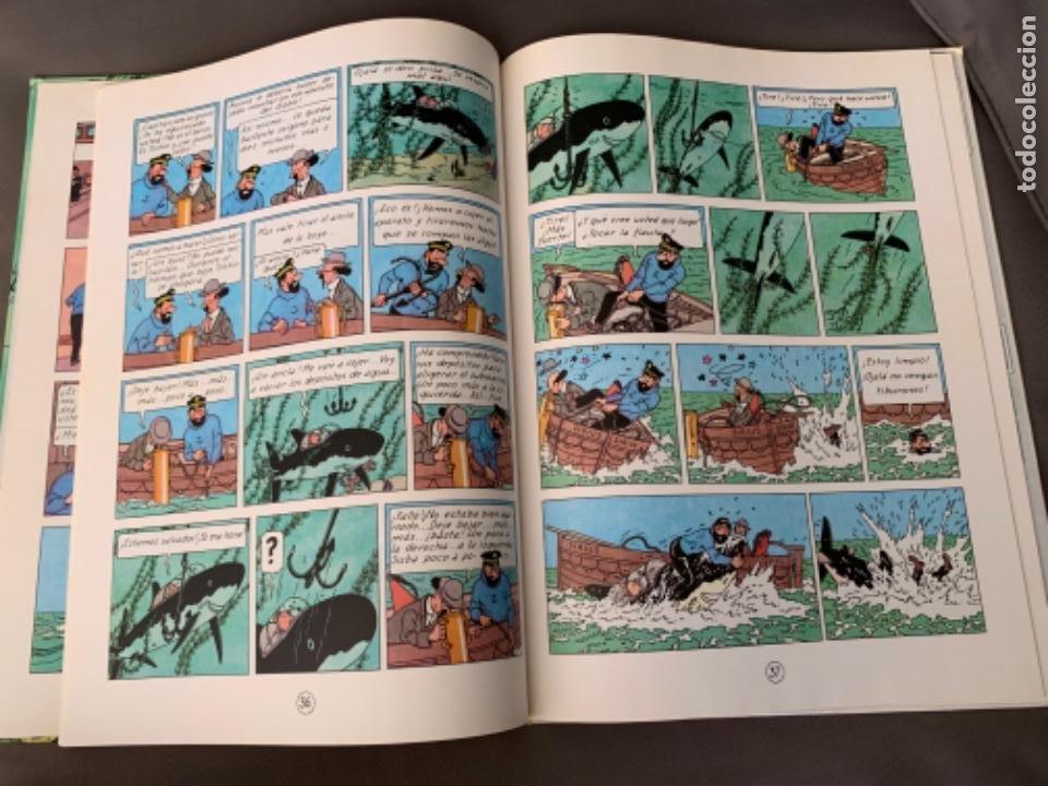 Cómics: TINTIN EL TESORO DE RACKHAM EL ROJO , HERGÉ ED. JUVENTUD 12ª EDICION 1988 - Foto 4 - 216593530