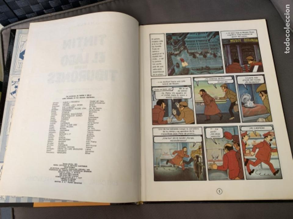 Cómics: TINTIN Y EL LAGO DE LOS TIBURONES , HERGÉ ED. JUVENTUD 12ª EDICION 1995 - Foto 2 - 216593818