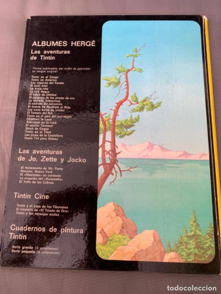 Cómics: TINTIN Y EL LAGO DE LOS TIBURONES , HERGÉ ED. JUVENTUD 12ª EDICION 1995 - Foto 3 - 216593818