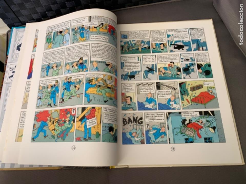 Cómics: TINTIN OBJETIVO: LA LUNA , HERGÉ ED. JUVENTUD EDICION 1989 - Foto 3 - 216595278
