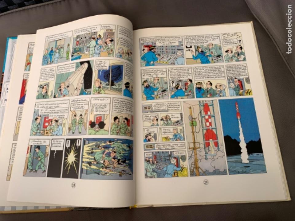 Cómics: TINTIN OBJETIVO: LA LUNA , HERGÉ ED. JUVENTUD EDICION 1989 - Foto 4 - 216595278