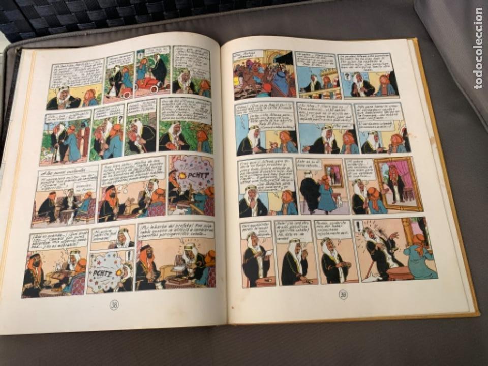 Cómics: TINTIN EN EL PAIS DEL ORO NEGRO, HERGÉ ED. JUVENTUD 5ª EDICION 1976 - Foto 3 - 216595780