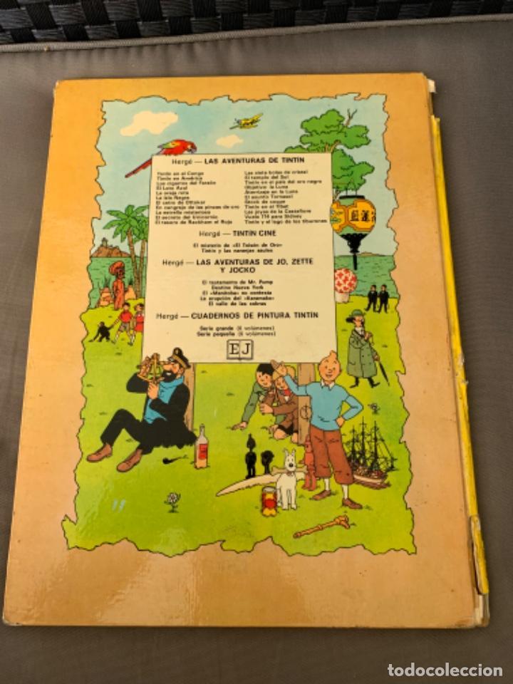 Cómics: TINTIN EN EL PAIS DEL ORO NEGRO, HERGÉ ED. JUVENTUD 5ª EDICION 1976 - Foto 4 - 216595780