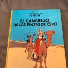Cómics: TINTIN EL CANGREJO DE LAS PINZAS DE ORO, HERGÉ ED. JUVENTUD 5ª EDICION 1976. Lote 216596120