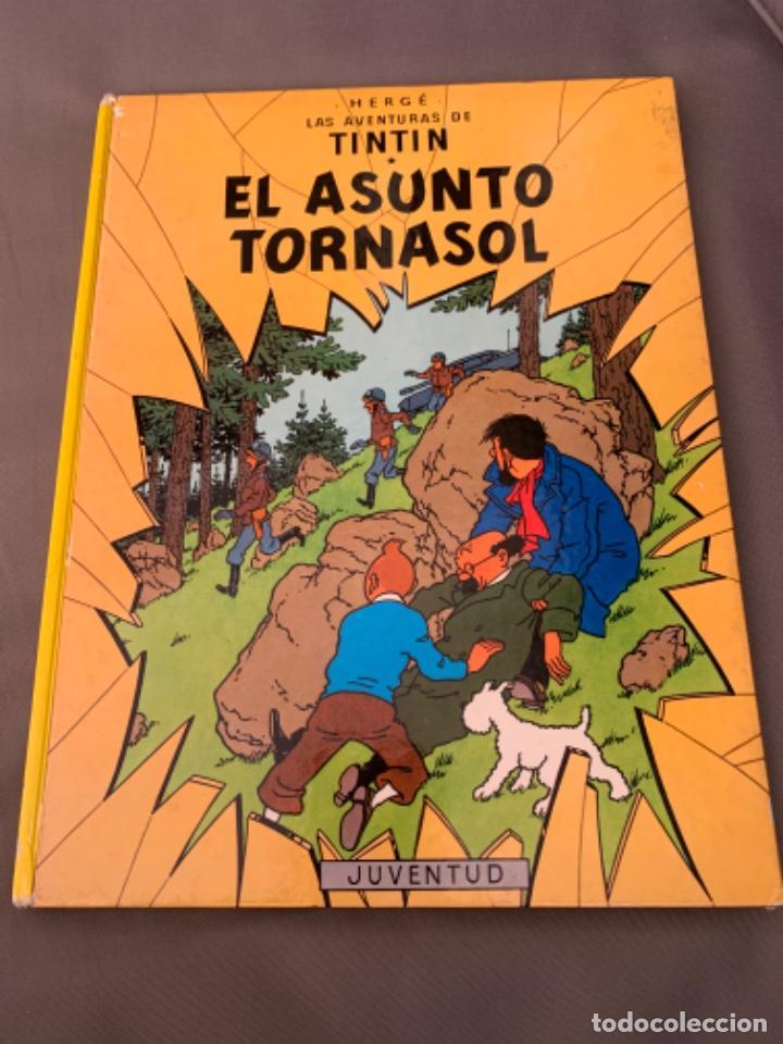 TINTIN EL ASUNTO TORNASOL, HERGÉ ED. JUVENTUD EDICION 1983 (Tebeos y Comics - Juventud - Tintín)