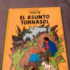 Cómics: TINTIN EL ASUNTO TORNASOL, HERGÉ ED. JUVENTUD EDICION 1983. Lote 216608933