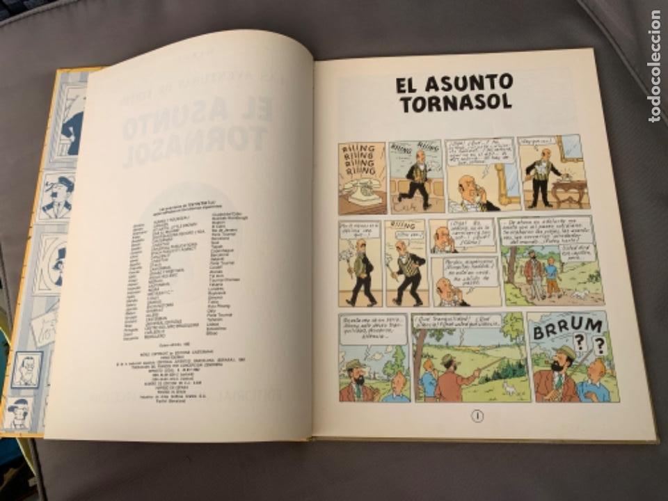 Cómics: TINTIN EL ASUNTO TORNASOL, HERGÉ ED. JUVENTUD EDICION 1983 - Foto 2 - 216608933