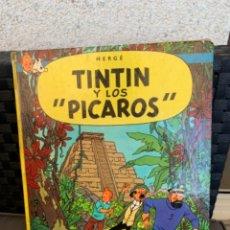Cómics: TINTIN Y LOS PICAROS, 1ª EDICION DE 1976 EDITORIAL JUVENTUD. Lote 216699322