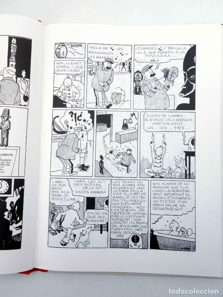 Cómics: LES AVENTURES DE TINTIN LORELLA ESCAPÇADA. BLANC I NEGRE (Hergé) Joventud, 1994. OFRT - Foto 5 - 272354053