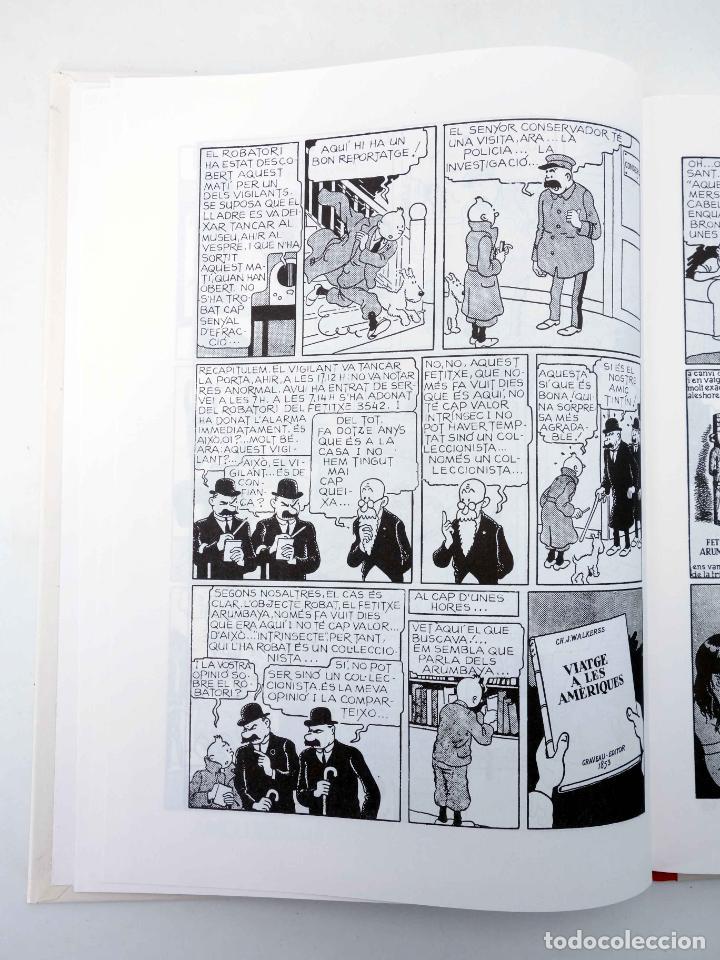 Cómics: LES AVENTURES DE TINTIN LORELLA ESCAPÇADA. BLANC I NEGRE (Hergé) Joventud, 1994. OFRT - Foto 6 - 272354053