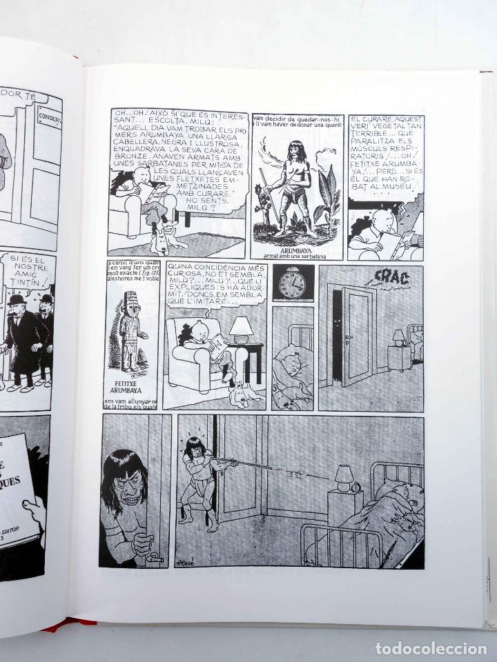 Cómics: LES AVENTURES DE TINTIN LORELLA ESCAPÇADA. BLANC I NEGRE (Hergé) Joventud, 1994. OFRT - Foto 7 - 272354053