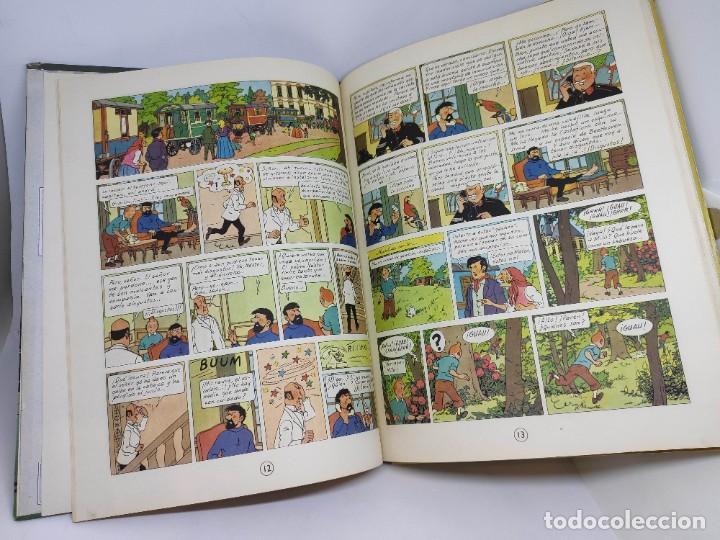 Cómics: TINTIN. LAS JOYAS DE LA CASTAFIORE. PRIMERA edicion 1964. lomo de tela. - Foto 12 - 216904430
