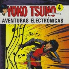Cómics: YOKO TSUNO.AVENTURAS ELECTRONICAS. TAPA DURA. JUVENTUD . MUY BUEN ESTADO. Lote 217201583