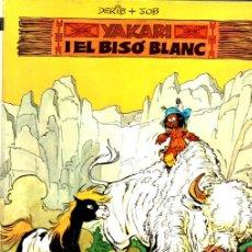 Cómics: YAKARI I EL BISÓ BLANC (JUVENTUD, 1979) PRIMERA EDICIÓ EN CATALÀ. Lote 217238571