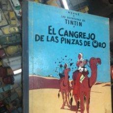 Cómics: TINTIN EL CANGREJO DE LAS PINZA DE ORO 2 EDICION 1966 EDITORIAL JUVENTUD LOMO TELA BUEN ESTADO. Lote 217248073