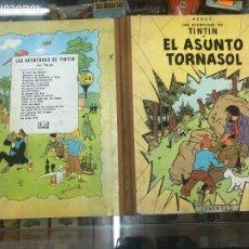 Comics: TINTIN EL ASUNTO TORNASOL 2 EDICION 1965 EDITORIAL JUVENTUD LOMO DE TELA BUEN ESTADO. Lote 217250907