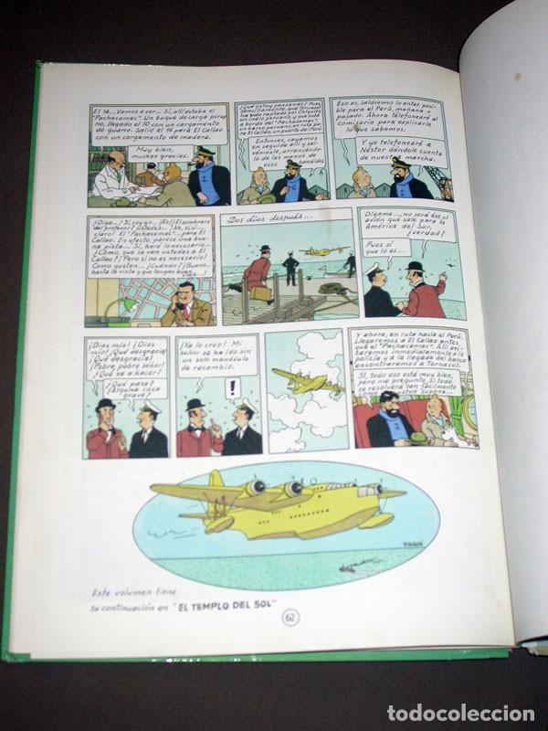 Cómics: LAS AVENTURAS DE TINTIN: LAS 7 BOLAS DE CRISTAL. HERGE. EDITORIAL JUVENTUD, 9ª EDICIÓN, 1985 - Foto 7 - 217368210