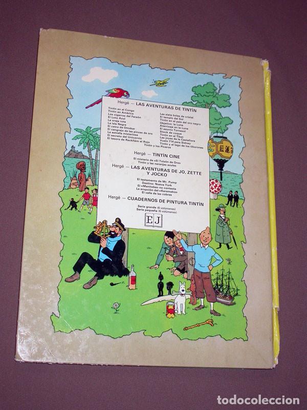 Cómics: LAS AVENTURAS DE TINTIN: LAS 7 BOLAS DE CRISTAL. HERGE. EDITORIAL JUVENTUD, 9ª EDICIÓN, 1985 - Foto 8 - 217368210