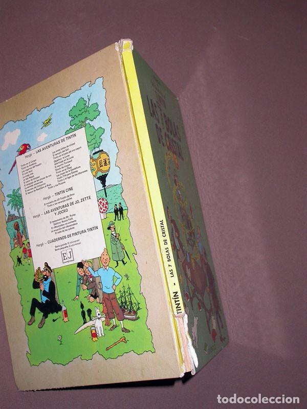 Cómics: LAS AVENTURAS DE TINTIN: LAS 7 BOLAS DE CRISTAL. HERGE. EDITORIAL JUVENTUD, 9ª EDICIÓN, 1985 - Foto 9 - 217368210