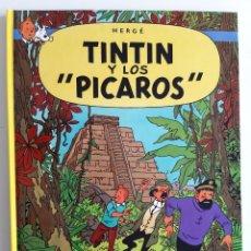 Cómics: HERGÉ - TINTIN Y LOS PICAROS. Lote 217388732