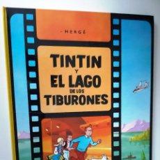 Cómics: HERGÉ - TINTIN Y EL LAGO DE LOS TRIBURONES. Lote 217389421