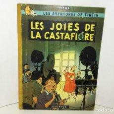 Cómics: TINTÍN JUVENTUD LIBRO COMIC LES JOIES DE LA CASTAFIORE PRIMERA EDICIÓN 1964 CATALÁN. Lote 217642291