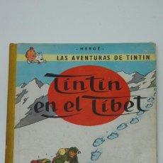 Cómics: LAS AVENTURAS DE TINTIN EN EL TIBET 1ª EDICIÓN ,MARZO DE 1962 .. Lote 217784570