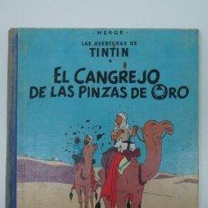 Cómics: LAS AVENTURAS DE TINTIN EL CANGREJO DE LAS PINZAS DE ORO ,19 EDICIÓN ,MARZO 1963.. Lote 217801495