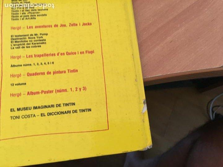 Cómics: LES TRAPELLERIES DEN QUIQUE I FLUPI HERGE ALBUM Nº 2 CATALAN (JUVENTUD) (COIB138) - Foto 3 - 217859667