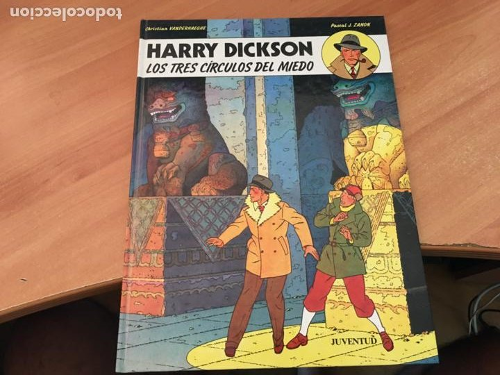 HARRY DICKSON Nº 3 LOS TRES CIRCULOS DE MIEDO (JUVENTUD) (COIB138) (Tebeos y Comics - Juventud - Otros)
