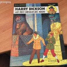 Cómics: HARRY DICKSON Nº 3 LOS TRES CIRCULOS DE MIEDO (JUVENTUD) (COIB138). Lote 217859847