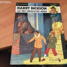 Cómics: HARRY DICKSON Nº 3 LOS TRES CIRCULOS DE MIEDO (JUVENTUD) (COIB138). Lote 217859942