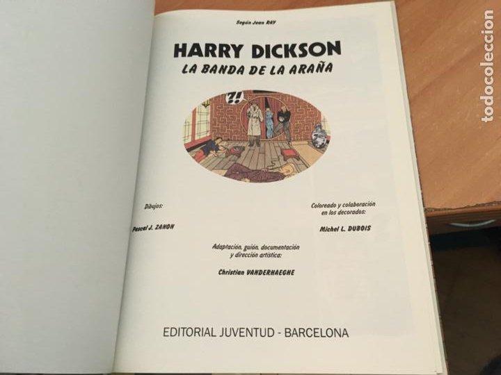 Cómics: HARRY DICKSON Nº 1 LA BANDA DE LA ARAÑA (JUVENTUD) (COIB138) - Foto 3 - 217860056