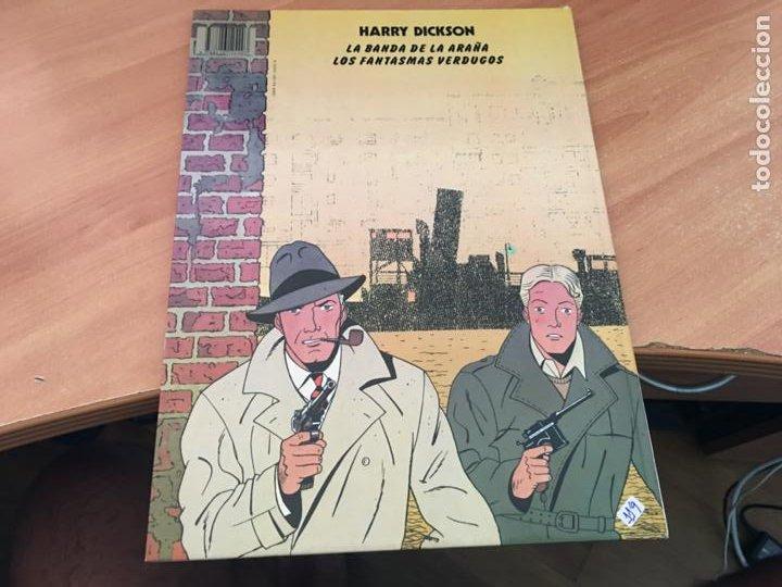 Cómics: HARRY DICKSON Nº 1 LA BANDA DE LA ARAÑA (JUVENTUD) (COIB138) - Foto 4 - 217860056