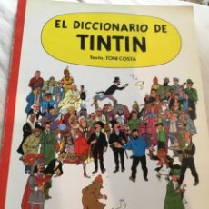 Cómics: EL DICCIONARIO DE TINTÍN 1986. Lote 217884100