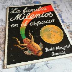 Cómics: LA FAMILIA MILENIOS EN EL ESPACIO EDITORIAL JUVENTUD AÑO 1975. Lote 218009271
