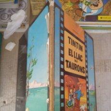 Comics: TINTIN I EL LLAC DELS TAURONS. 1974 PRIMERA EDICION. JUVENTUD. Lote 218229252