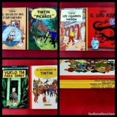 Cómics: LOTE DE 6 TINTIN -EDITORIAL JUVENTUD-1996-EXCELENTE ESTADO-PORTES PENINSULA 5,50 €. Lote 218274007