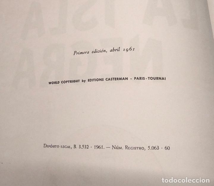 Cómics: La Isla Negra año 1961 Primera Edición Editorial Juventud - Foto 2 - 218283273