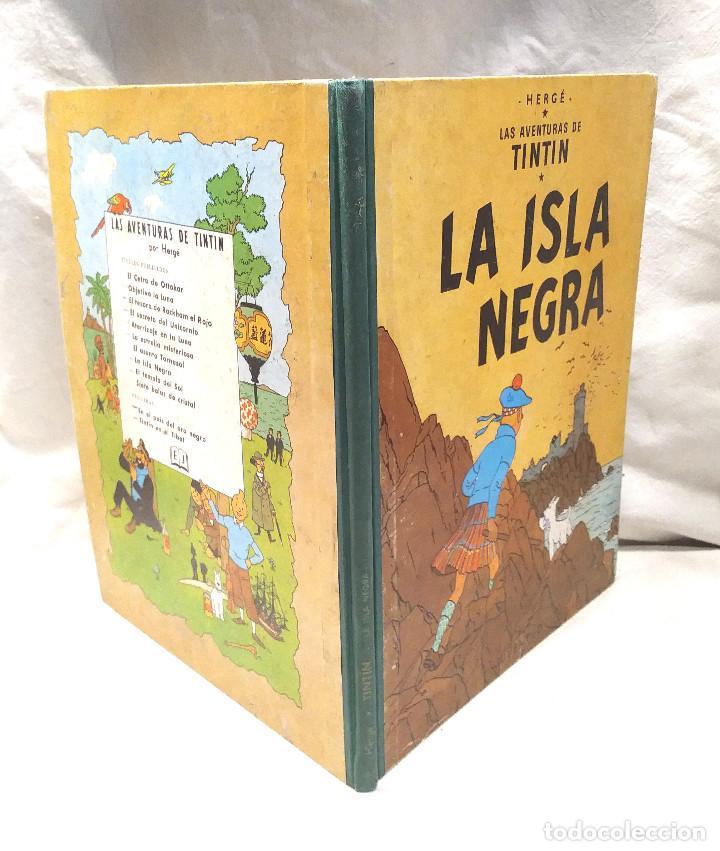 Cómics: La Isla Negra año 1961 Primera Edición Editorial Juventud - Foto 3 - 218283273