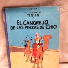 Cómics: EL CANGREJO DE LAS PINZAS DE ORO AÑO 63 1ERA EDICIÓN EDITORIAL JUVENTUD. Lote 218284157