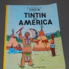 Cómics: COMICS LAS AVENTURAS DE TINTIN EN AMÉRICA. Lote 218311555