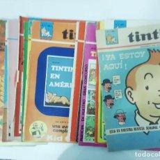 Fumetti: SEMANARIO TINTIN - PARA JÓVENES DE 7 A 77 AÑOS - DEL 1 AL 55 NÚMEROS - AÑO I AÑO II - VER FOTOS. Lote 218466985