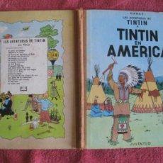 Cómics: TINTIN. TINTIN EN AMERICA. EDITORIAL JUVENTUD 1ª EDICION 1968. Lote 218532108