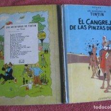 Comics: TINTIN. EL CANGREJO DE LAS PINZAS DE ORO. EDITORIAL JUVENTUD SEGUNDA EDICION ABRIL DE 1966. Lote 218532601
